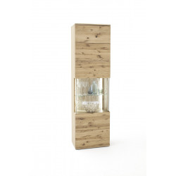 Santori assembled solid wood display cabinet
