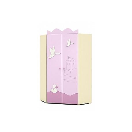 Swan - double door corner wardrobe