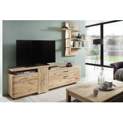 Santori 210cm assembled solid wood TV Unit