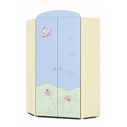 Secret Garden - double door corner wardrobe