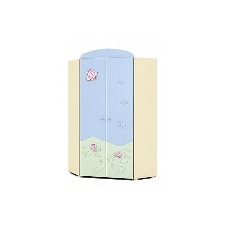 Secret Garden - double door corner wardrobe