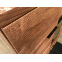 Pik II assembled solid wood display cabinet