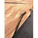 Pik III assembled solid wood display cabinet