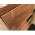 Pik assembled narrow display cabinet