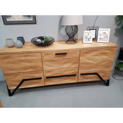 Pik assembled solid wood sideboard