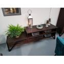 Pik II assembled solid wood TV stand