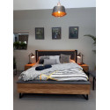 Pik solid wood bed