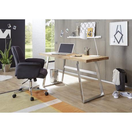 Andrew solid oak computer desk
