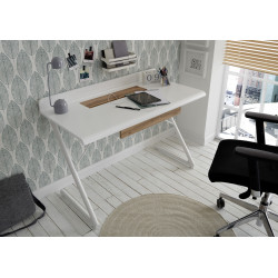 Tula office desk in matt lacquer finish