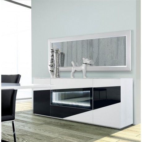 Teknica - luxury sideboard with modern lighting system