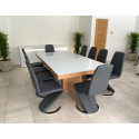 Zoom bespoke extendable dining table