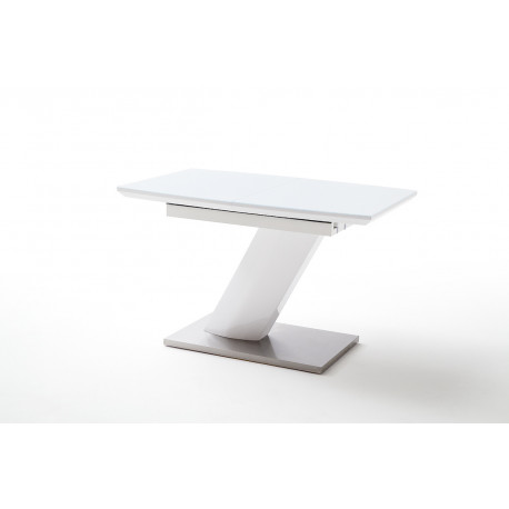 Galina 120cm small extendable dining table