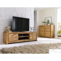 Caspar I solid wood highboard