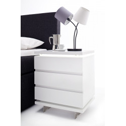Nola II set of two bedside cabinets with LED`s