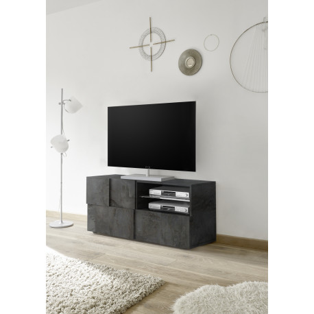 Diana 121cm TV Unit in oxide finish with LED lights