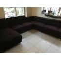 Enzo modulio II - U shape luxury modular sofa