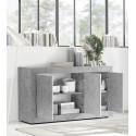 Dolcevita three door concrete finish sideboard