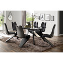 Victoria dining chair with cantilever base
