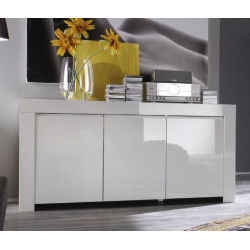 Amalia - 3 door high gloss sideboard