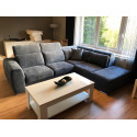 Pallazo - corner modular sofa with bed and electric recliner option