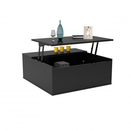 Spirit coffee table with lifting top