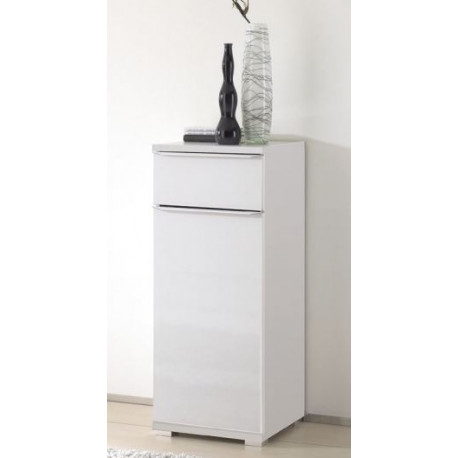 Rubin narrow assembled 1 door 1 drawer cupboard
