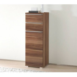 Rubin narrow assembled 1 door 2 drawers cupboard