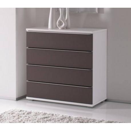Rubin assembled 4 drawers chest