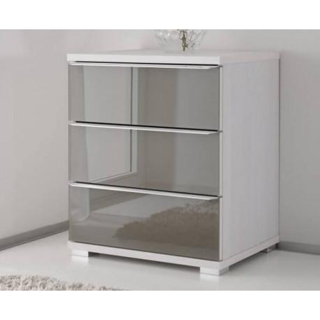 Rubin assembled 3 drawers chest