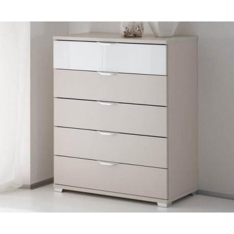 Rubin II assembled 5 drawers chest
