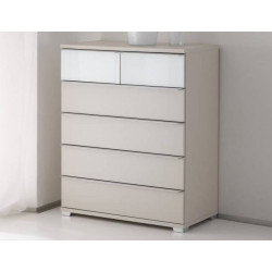 Rubin assembled 6 drawers chest