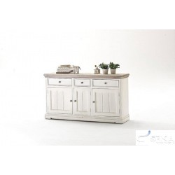 Otello II solid wood sideboard