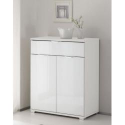 Rubin assembled 2 doors 1 drawer cabinet
