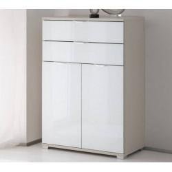 Rubin assembled 2 doors 2 drawers cabinet