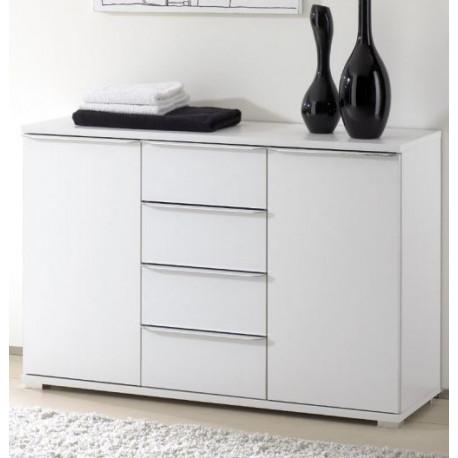 Rubin assembled 4 drawers 2 doors bedroom sideboard