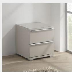 Rubin assembled 2 drawers bedside cabinet