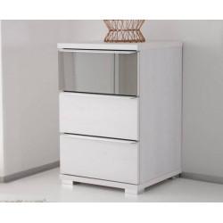 Rubin assembled 3 drawers bedside cabinet