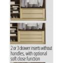 Rubin assembled 6 drawers chest