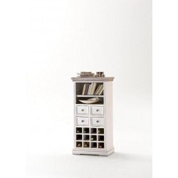 Otello solid wood wine cabinet