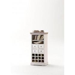 Otello solid wood wine cabinet