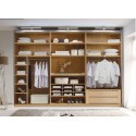 Sinfonie bespoke large corner wardrobe
