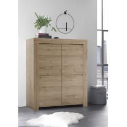 Arden kadiz oak highboard
