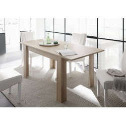 Arden extendable dining table in kadiz oak