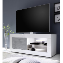Dolcevita Gloss and concrete finish TV Stand