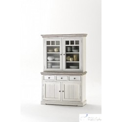 Otello Large solid wood display cabinet