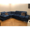 Lorenzo modulio - L shape modular sofa with bed option