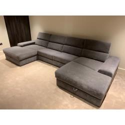 Plaza luxury U shape modular sofa system