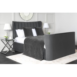 "Opulance TV bed frame with 40"" super slim smart TV"