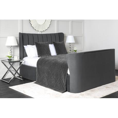 """Opulance TV bed frame with 40"""" super slim smart TV"""