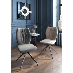 Sara- modern dining chair in velvet